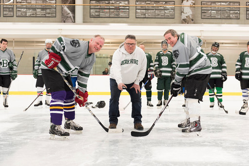 Longtime Teacher, Coach Honored at Alumni Winter Games