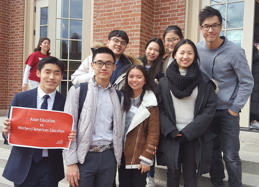 Students Present at Asian American Footsteps Conference