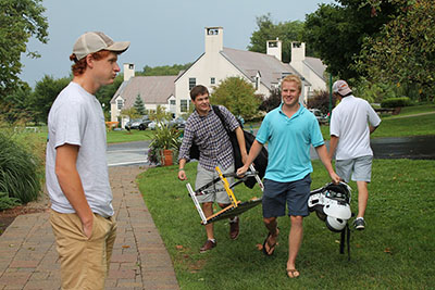Students return to Berkshire for the start of the 2013-2014 school year.