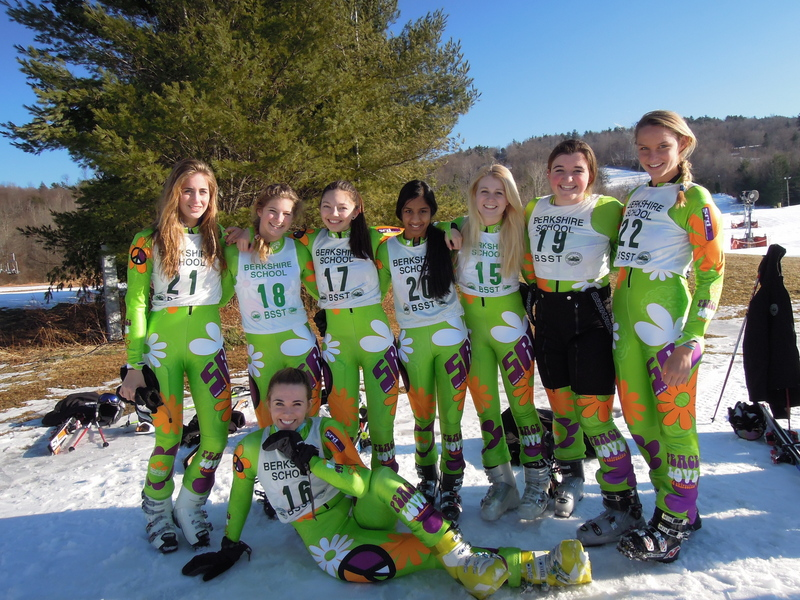 Girls Varsity Ski Team 2012