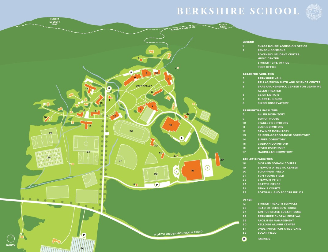 Campus Map for Admission page